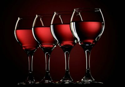 4 glasses of wine for Pesach